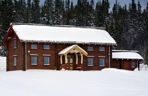 I byggnaderna på Henvålen finns plats för ett stort antal övernattande gäster.