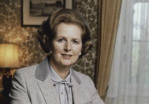 Margaret Thatcher 1980.