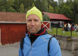 Jan Kläre, gruvansvarig, är själv löpare och var mycket nöjd med Run of Mine.