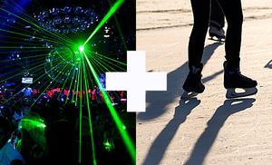 I kväll kan den som är danssugen utöver det vanliga snöra på sig skridskorna.