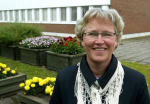 Spikrakt uppåt. Gun Stefansson, före detta chef på Landvetters flygplats, är snart chef för hela sjukhusets administration i Sundsvall.