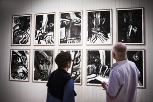 En mindre känd sida av Bengt Lindström visas i utställningen