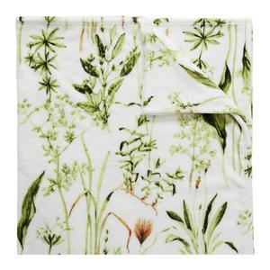 BLOM. Fleecefilten med blommönster kommer från Hemtex och kostar 199 kronor.