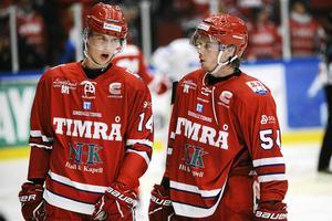Två Timråtalanger i form av Elias Pettersson och Jonathan Dahlén som Inge Hammarström haft en del i respektives karriärer.