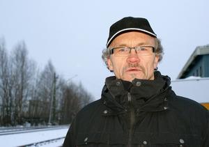 Bo Johansson, ansvarig för Street Aid ser till att volontärer finns på plats vid Fläsians camping.
