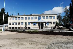 Rengsjö skola efter renoveringen i början av augusti förra året.