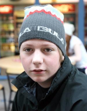 Oskar Nilsson, 14, Söderhamn, är en av ungdomarna i Be smart.