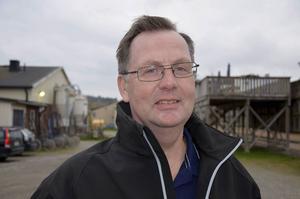 Bergsåkers travbanechef Jens Berglund.