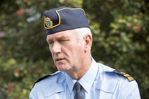 Mikael Hedström, talesman för Gävlepolisen.