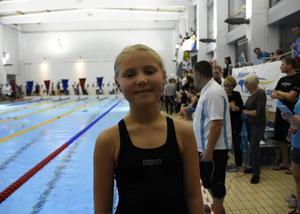 Tuva Fridlund, nio år, var nöjd med dagen.