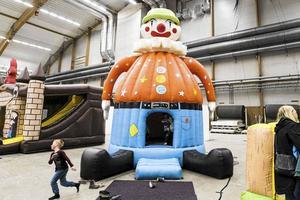 500 kvadratmeter barnland för lek och skoj.