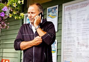 Thomas Gunnarsson är campingföreståndare på Stenö. Han hoppas mycket på en ny restaurang.