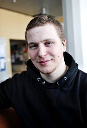 Linus Eriksson, 20, Avesta, socionomprogrammet:– Jag vill jobba med människor.