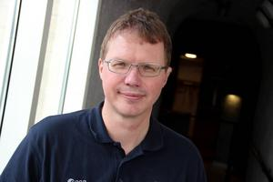 För Håkan Sandin på Framtidsmuseet var det en upplevelse att få vara med om ett In-flight call till ISS.