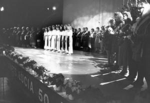 1988 firade arrangemanget Länets Lucia 50 år. Då samlades 40 lucior från åren 1940–1988 på Storsjöteatern.
