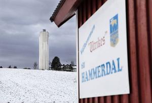 Jodå – det kommer att bli belysning på vattentornet i Hammerdal igen.