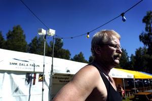 Arrangör. Hans Leandersson är ordförande för the Twin Club i Falun, som anordnar Kopparträffen. Foto:Paulina Håkansson