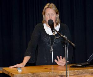 Elise Ryder Wikén är första namn på listan till kommunfullmäktige för Moderaterna i Bergs kommun.