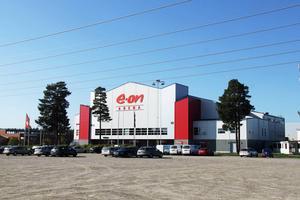 Eon Arena i Timrå är nu till försäljning.