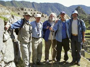 Richard Sjöberg, Hans Alm, Italo Pilotti, Eddy Sandberg och Pär Nord.