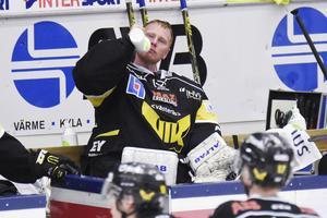 Det är nog många VIK-supportrar som önskar att Vitali Koval hade blivit kvar här, på bänken. Foto: Stefan Lindgren