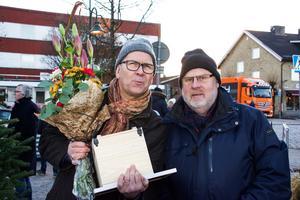 Olle Örngård och Christer Falk, båda med rötterna i Västerbergslagen, har utsetts till ambassadörer i Bollebygd.