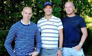 Sommaren 2013: Daniel Välitalo ska åka till Kazan och spela bandy tillsammans med lagkamraterna Hans Andersson och Anders Svensson.