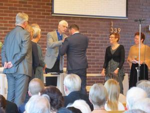 Den 18 oktober hölls en installationsgudstjänst i EFS kyrka i Örnsköldsvik. Det var en fin gudstjänst med mycket sång berättar Mikael.