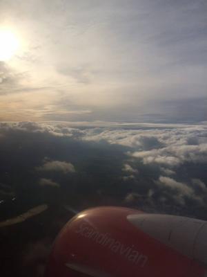 Torsdag, flygplanet: 17-timmarsresa till Brasilien! Näst sista Formel 1-racet i Sao Paulo.