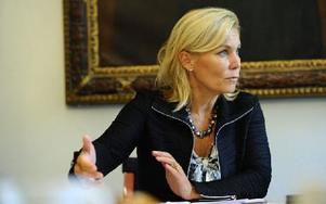 Förra biståndsministern Gunilla Carlsson. Foto: HENRIK MONTGOMERY / SCANPIX
