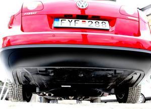 En VW Passat fri från avgaser? Synligt avgasrör saknas i gasbilen som är succé före lanseringen.