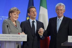 Tidigare tabubelagda resonemang var plötsligt inte längre heliga om Euron när Angela Merkel och Nicolas Sarkozy i förra veckan talade med Italiens Mario Monti.
