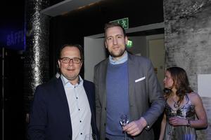 Magnus Ekman och Nicklas Salmin.