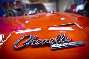 Chassiet är en Chevelle by Chevrolet, i övrigt finns inte mycket kvar av den bilen.