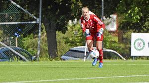 Jenny Wahlén blev ny förstemålvakt efter en skada på Lina Lundqvist.