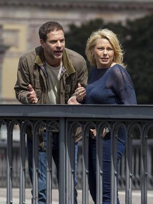 Thomas Hanzon spelar Helena Bergströms jobbiga ex-make i Colin Nutleys nya dramakomedi