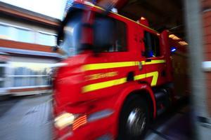 Räddningstjänst är på olycksplatsen i Färila.