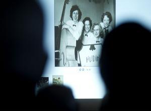 Fotografiet på Hudikflickorna, med Ingrid Gillsäter, var ett av många som visades.