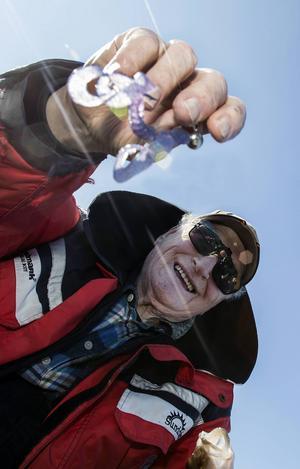 Fiskenestorn Sten Högberg tycker höstfisket med jigg är en årlig höjdare.
