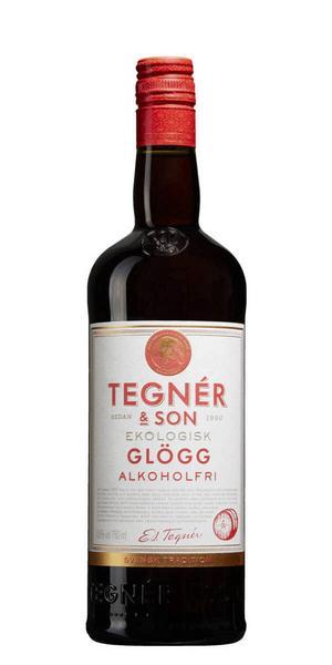 11902 Tegnér & Son Ekologisk Glögg Alkoholfri för 32 kronor (75 cl). Glöggen har en balanserad doft av kardemumma och aningens kanel, smaken är halvtorr, relativt lätt med smak av kardemumma, kanel och nejlika.
