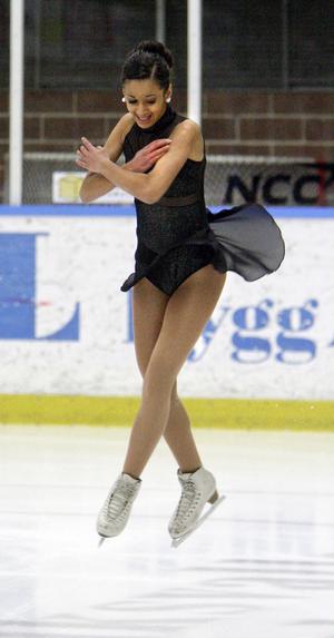 Felicia Faller åkte hem bronspengen i junior B.