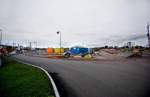 Handelsområde Ikea. Ikea kommer att ligga på handelsområde Ikea. Något som gör att Trafikverket skyltar till varuhuset.