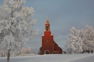 Stora kyrkan i Östersund.