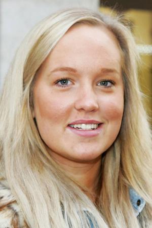 Cecilia Sandström, 18 år, Frösön:– Ja kanske det. Men inte ensam, jag är inte så drivande. Som företagare är man sin egen chef.