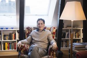 Författaren David Lagercrantz inleder samarbete med Läsrörelsen. Arkivbild.   Foto: Vilhelm Stokstad/TT