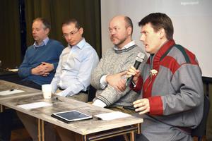 Henrik Rosenkvist, Yair Sapir, Öystein Vangsnes och Lars Joar Halonen var de fyra föreläsarna under måndagen.