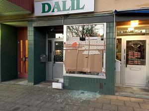 Fjärde inbrottet på fyra månader drabbade natten till julafton livsmedel butiken Dalil vid Marnästorg i Ludvika