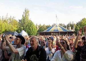 4 500 personer kom till Furuviksparken för att se Bo Kaspers Orkester.