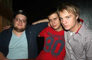 Konrad. Kristoffer, Martin och Dansken