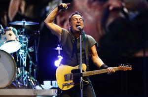 På midsommardagen kommer Bruce Springsteen till Göteborg för att göra den första av tre spelningar på Ullevi i sommar. Arkivbild.